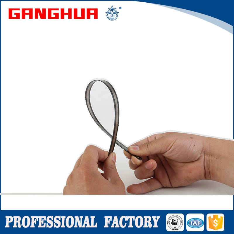 flexible natural color high carbon steel hacksaw blade (double edge)