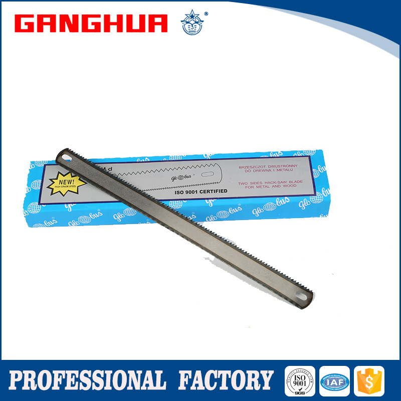 1inch natural color high carbon steel hacksaw blade package